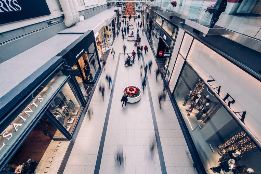 big shopping centre, retail, design