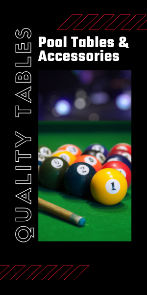 pool balls and accessories